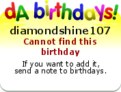 My birthday badge