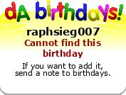 Raph's Birthday Badge