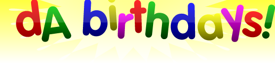 DeviantArt Birthdays!